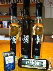 Vindal Blanc ice wine (pictured above) produce by Snow Farm Vineyards is just one of the many unique offerings being produced at local vineyards. (Observer photo by Snow Farm Vineyards)