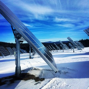 Observer courtesy photo AllEarth, based in Williston, designs and engineers solar trackers.