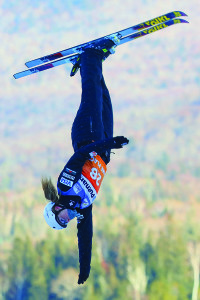 Observer photos by Steven Tanghe Meghan Nick at the U.S. World Cup in Lake Placid.