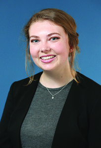 Observer courtesy photo Kirsten Forrester of WIlliston has been named a Winthrop Scholar, the highest academic honor bestowed by Connecticut College, where she is a senior.