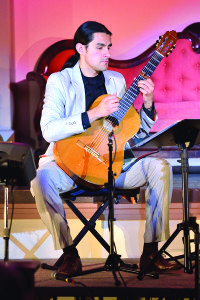 The Williston Old Brick Church Concert Series presented 8 Cuerdas and Gaviria & Andreas on Friday the10th featuring Latin voice and classical guitar.