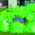 Observer file photo The green trash bags used on Green Up Day are piled on Harvest Lane last year.
