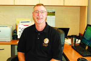 Observer file photo WIlliston Police Chief Todd Shepard will be retiring in SEptember.
