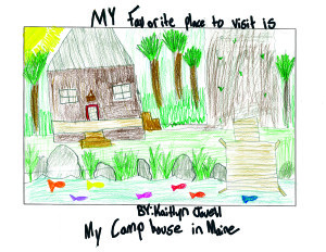 Camp House Maine_Kaitlyn Jovell_Gr4