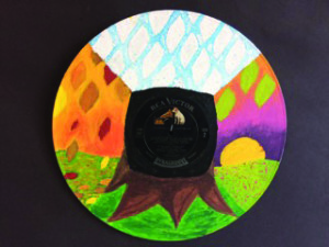 '4 Seasons' mandala by Liam Freeman, Grade 10