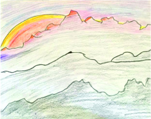 'Mountains' by Madeline Bunting, Grade 6