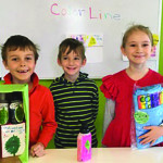 Williston Observer contributed photo Children from Vermont Day School were challenged by Seventh Generation, a company that created sustainable products, to create their own products.