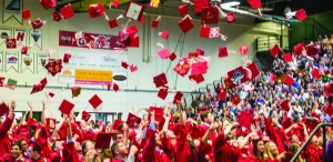 CVU Graduation at UVM's Patrick Gym 16Jun17-118_Hatsoff
