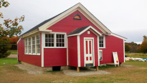 Observer contributed photo St. George's historic one-room schoolhouse has been restored and has reverted  back to municipal ownership.