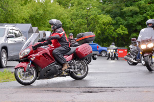 Six intrepid drivers with two riders leave from Roadside Motorsports in Williston to RIde for Camp Takumta on Saturday the 8th.