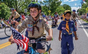 Williston's 4th of July Parade 2017-91Scouts