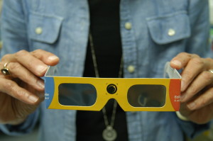 Observer contributed photo The Dorothy Alling Memorial Library will be handing out free solar eclipse viewing glasses during its eclipse viewing party Monday