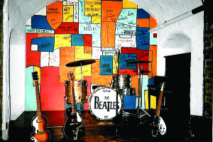 A replica of Liverpool's Cavern Club at The Beatles Story takes visitors back to nostalgic memories of the Beatles' early days.