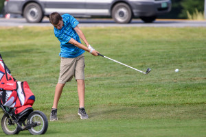 Observer photo by Al Frey Boys golf follows up the spring season with summer practices for its first-ever fall season this year.