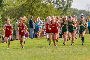 Observer photos by Al Frey The CVU boys cross country team has a young group of talent looking to run to a berth in the New England championships.