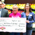 Observer courtesy photo Hannaford Supermarkets Director of Operations Samara Bushey (right) and Williston Store Manager Paul Provo (left) recently presented a $5,000 donation to Williston Community Food Shelf President Ginger Morton (center) at the Hannaford store in Williston. The donation will be used to support the hunger relief efforts of the food shelf, which serves residents of Williston, St. George, Richmond and Essex. The donation was part of a celebration of the reopening of the Williston Hannaford store following a renovation that brought additional product variety and prepared meal options.