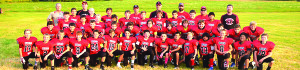 Observer courtesy photos The fifth- and sixth-grade Buccaneers football team finished the season 6-1.