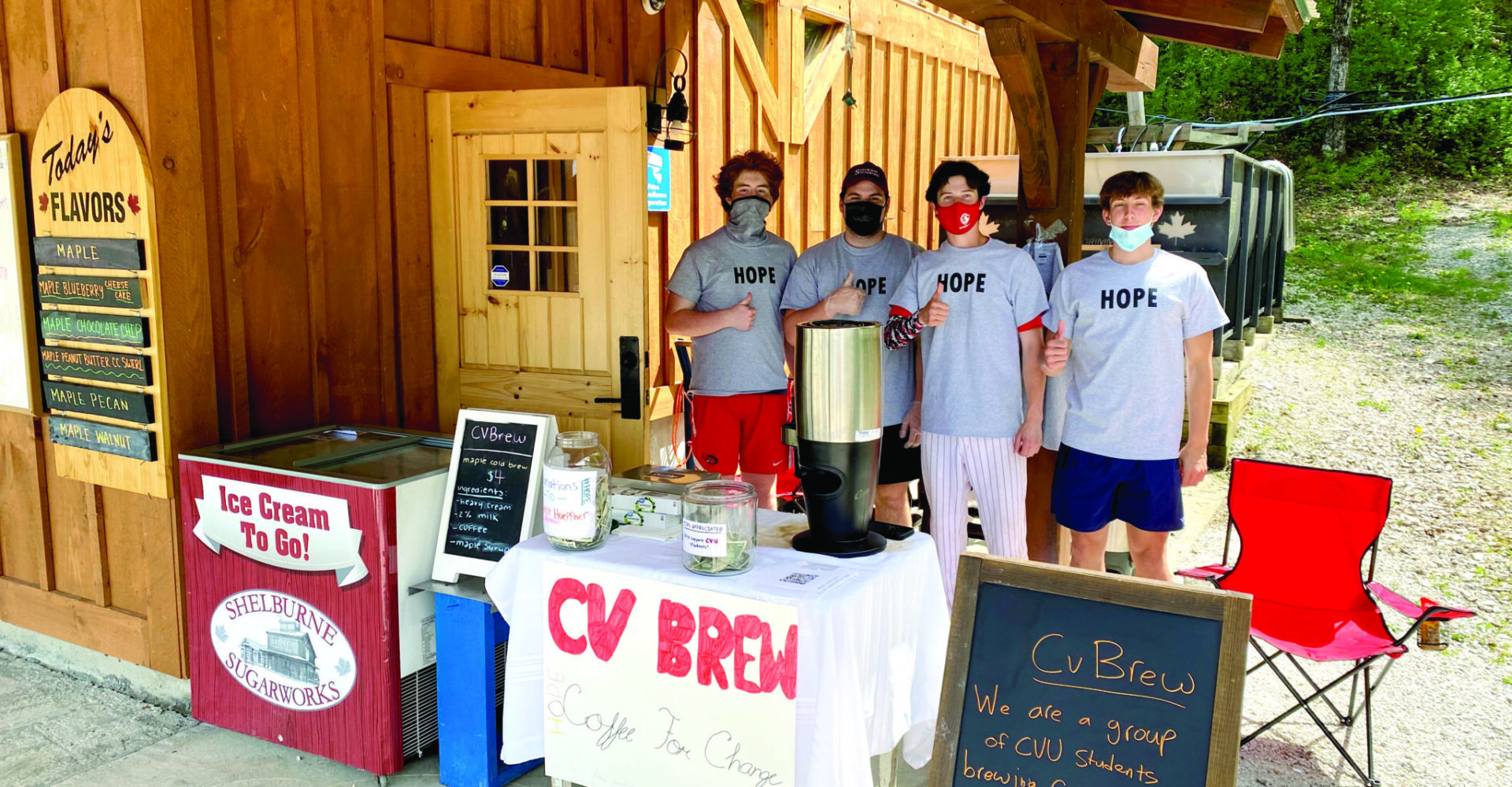 The students of CVBrew brought a business into reality this spring as a fundraiser for Project Hoeppner.